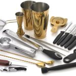 Barfly 12 Piece Cocktail Set (Gold)