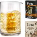 Barillio 20 Oz Crystal Cocktail Mixing Glass Set