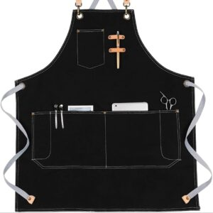 KINIVA Apron with Pockets for Men Women
