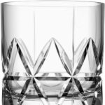 Orrefors Peak Double Old Fashioned Glass, Set of 4