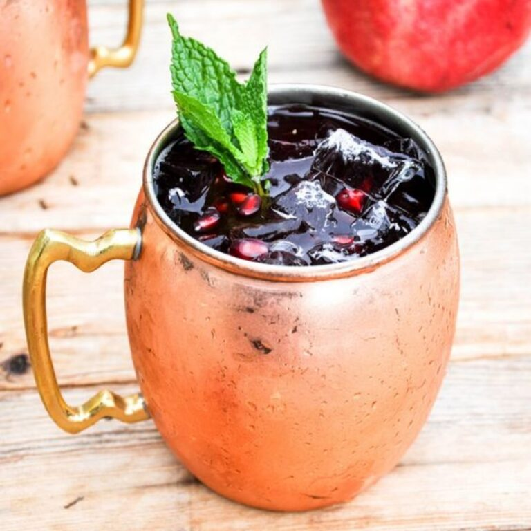 MixersAnonTT Pomegranate-Moscow-Mule-768x768 12 Best Cocktails For Christmas