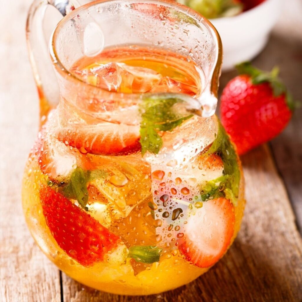 Green Tea Virgin Sangria