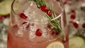 Pomegranate Ginger Mocktail